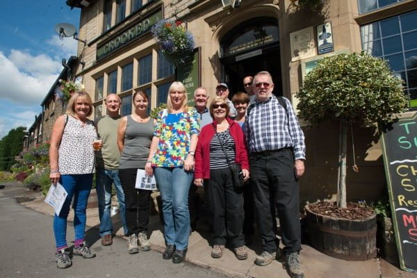 Pub2Pub Charity Walk 2015
