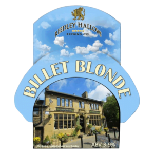 Reedley Hallows Billet Blond Label