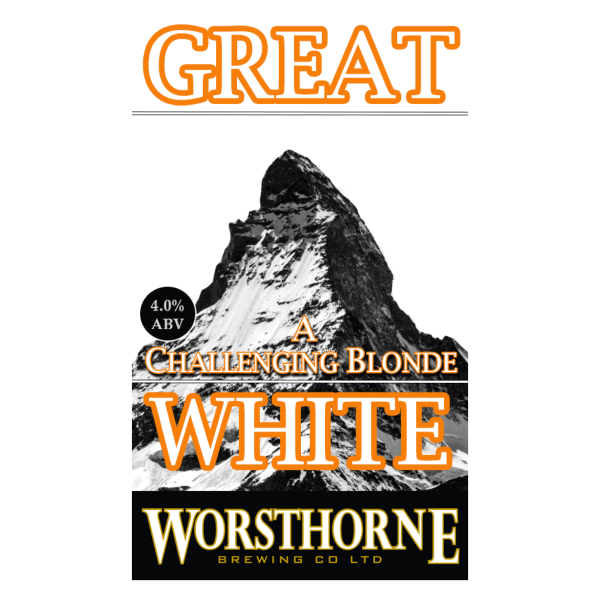 Worsthorne brewery great white